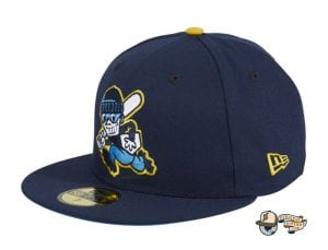 Chamuco Base Stealers Navy 59Fifty Fitted Hat by Chamucos Studio x New Era Left