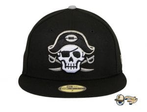 Chamuco Los Malosos Black 59Fifty Fitted Cap by Chamucos Studio x New Era Front