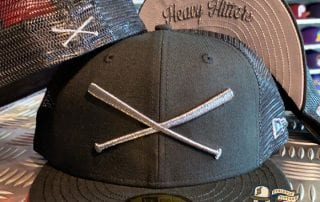 Crossed Bats Heavy Hitters Meshback 59Fifty Fitted Cap by Justfitteds x New Era