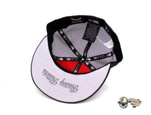 Crossed Bats Heavy Hitters Meshback 59Fifty Fitted Cap by Justfitteds x New Era Bottom