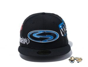 Guccimaze Multi Logo 59Fifty Fitted Cap by Guccimaze x New Era Front