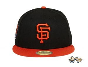 Hat Club Exclusive San Francisco Giants 20th Anniversary Stadium Patch 59Fifty Fitted Hat by MLB x New Era 2Tone