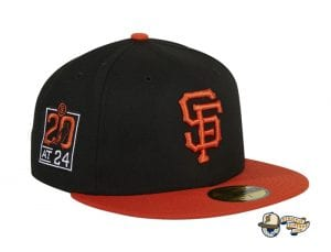 Hat Club Exclusive San Francisco Giants 20th Anniversary Stadium Patch 59Fifty Fitted Hat by MLB x New Era