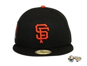 Hat Club Exclusive San Francisco Giants 20th Anniversary Stadium Patch 59Fifty Fitted Hat by MLB x New Era Front