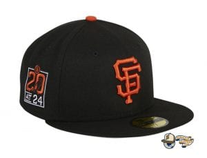 Hat Club Exclusive San Francisco Giants 20th Anniversary Stadium Patch 59Fifty Fitted Hat by MLB x New Era Left