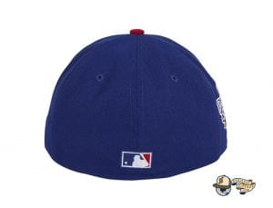 Hat Club Exclusive Texas Rangers 2010 World Series Patch Pink UV 59Fifty Fitted Hat by MLB x New Era Back