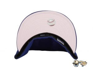 Hat Club Exclusive Texas Rangers 2010 World Series Patch Pink UV 59Fifty Fitted Hat by MLB x New Era Undervisor