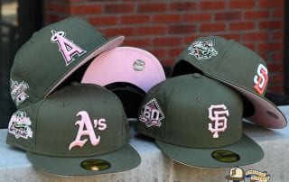 Hat Club Pink Martini MLB September 26 59Fifty Fitted Hat Collection by MLB x New Era
