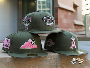 Hat Club Pink Martini MLB September 26 59Fifty Fitted Hat Collection by MLB x New Era Front