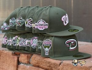 Hat Club Pink Martini MLB September 26 59Fifty Fitted Hat Collection by MLB x New Era Side