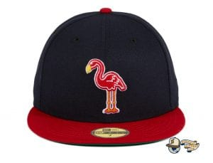 Hat Club Retro MiLB August 31 59Fifty Fitted Hat Collection by MiLB x New Era Flamingos