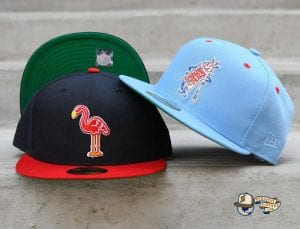Hat Club Retro MiLB August 31 59Fifty Fitted Hat Collection by MiLB x New Era Front