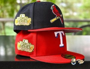Hat Club Retro MLB World Series September 23 59Fifty Fitted Hat Collection by MLB x New Era