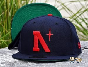 Heritage North Star September 2020 59Fifty Fitted Cap Collection by Noble North x New Era Navy
