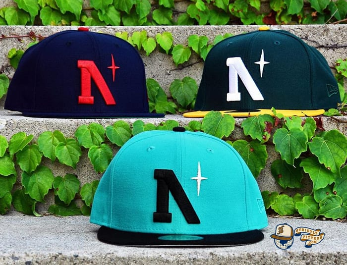 Heritage North Star September 2020 59Fifty Fitted Cap Collection by Noble North x New Era