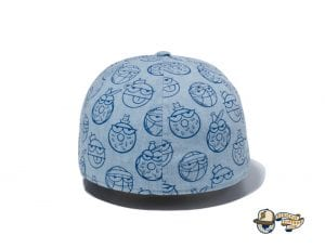 Kevin Lyons Allover Print 59Fifty Fitted Cap by Kevin Lyons x New Era Back