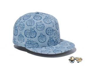 Kevin Lyons Allover Print 59Fifty Fitted Cap by Kevin Lyons x New Era Right