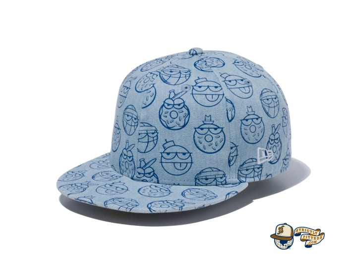 Kevin Lyons Allover Print 59Fifty Fitted Cap by Kevin Lyons x New Era