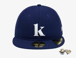 Kompakt Record Bar Royal Blue 59Fifty Fitted Cap by Kompakt Record Bar x New Era Front