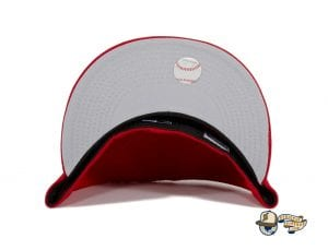 Los Angeles Angels California State Red 59Fifty Fitted Hat by MLB x New Era Undervisor
