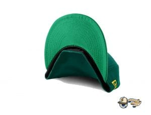Mcnutts Leprechaun The Town Green Gold 59Fifty Fitted Cap by The Capologists x New Era Undervisor