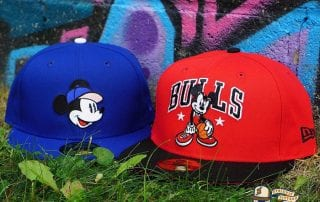 Mickey Mouse 59Fifty Fitted Cap Collection by Team Collective x Disney x New Era
