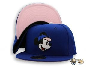 Mickey Mouse 59Fifty Fitted Cap Collection by Team Collective x Disney x New Era Blue