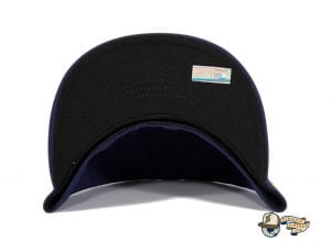 Milwaukee Brewers Alternate Navy Gold 59Fifty Fitted Hat by MLB x New Era Undervisor