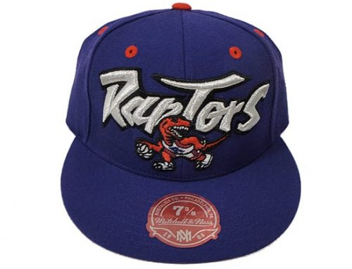Toronto Rapters Fitted Cap by Mitchell & Ness x NBA