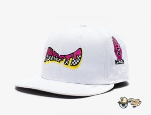 Moto 59Fifty Fitted Cap by Undefeated x New Era White