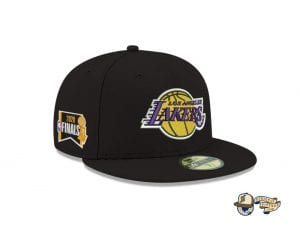 NBA Finals 2020 Side Patch 59Fifty Fitted Cap Collection by NBA x New Era Lakers