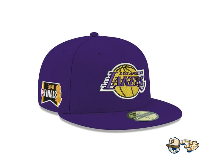 NBA Finals 2020 Side Patch 59Fifty Fitted Cap Collection by NBA x New Era