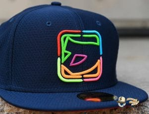 Neon Inferno 59Fifty Fitted Hat by Dionic x New Era
