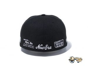 New Era 100th Anniversary Old Logo 59Fifty Fitted Cap by New Era Back