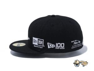 New Era 100th Anniversary Old Logo 59Fifty Fitted Cap by New Era Leftside