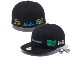 New Era 100th Anniversary Old Logo 59Fifty Fitted Cap by New Era Multicolor