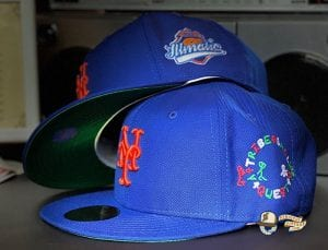 New York Legends 59Fifty Fitted Cap Collection by Bronx Social x MLB x New Era Mets