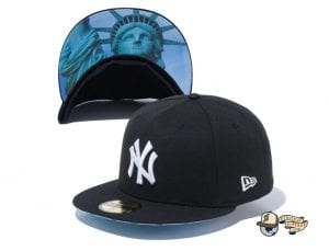 New York Yankees Statue of Liberty Undervisor 59Fifty Fitted Cap by MLB x New Era