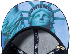New York Yankees Statue of Liberty Undervisor 59Fifty Fitted Cap by MLB x New Era Undervisor