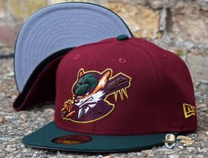 Sneaky Blinders Cardinal Dark Green 59Fifty Fitted Cap by Noble North x New Era Front