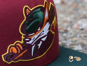 Sneaky Blinders Cardinal Dark Green 59Fifty Fitted Cap by Noble North x New Era Zoom