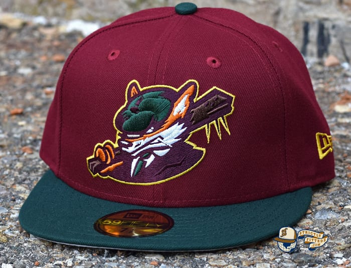 Sneaky Blinders Cardinal Dark Green 59Fifty Fitted Cap by Noble North x New Era