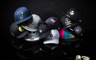 The Nightmare Before Christmas 59Fifty Fitted Cap Collection by Tim Burton x New Era