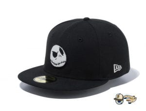 The Nightmare Before Christmas 59Fifty Fitted Cap Collection by Tim Burton x New Era Jackblack