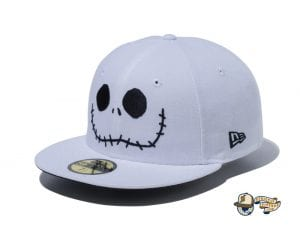 The Nightmare Before Christmas 59Fifty Fitted Cap Collection by Tim Burton x New Era Jackface
