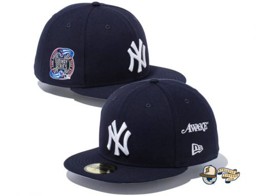 Awake NY Subway Series 59Fifty Fitted Cap Collection by Awake x MLB x New Era