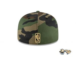 Dragon Satin 59Fifty Fitted Cap Collection by NBA x New Era Back