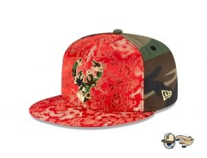 Dragon Satin 59Fifty Fitted Cap Collection by NBA x New Era Bucks