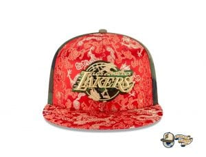 Dragon Satin 59Fifty Fitted Cap Collection by NBA x New Era Lakers