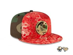 Dragon Satin 59Fifty Fitted Cap Collection by NBA x New Era Warriors